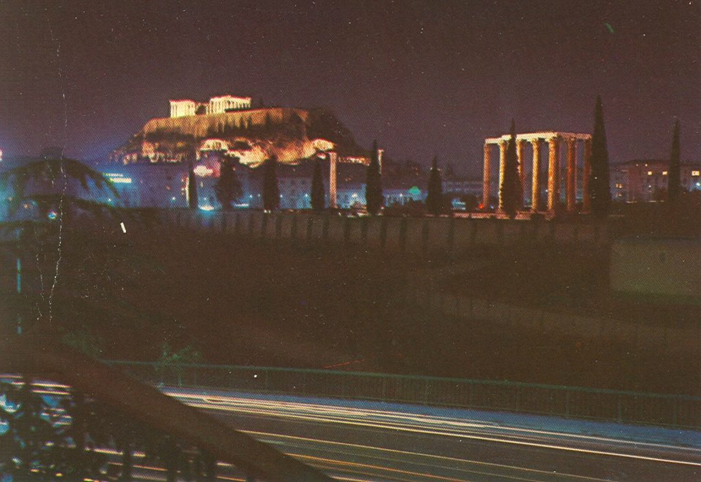 ACROPOLIS & TEMPLE OF ZUES-ATHENS