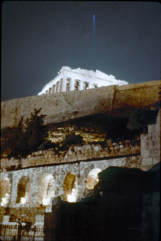 Acropolis by night 1969