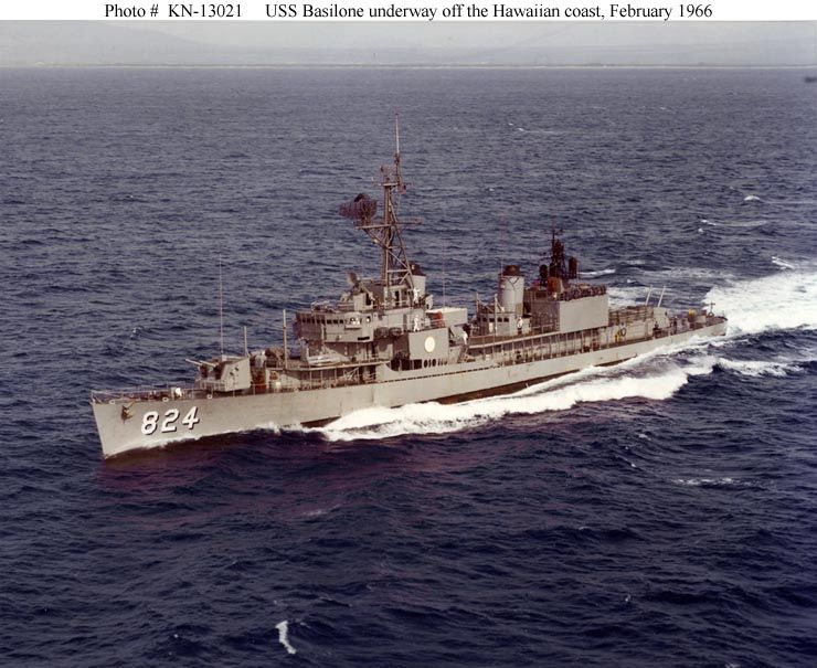 Underway off Hawaii, Feb. '66