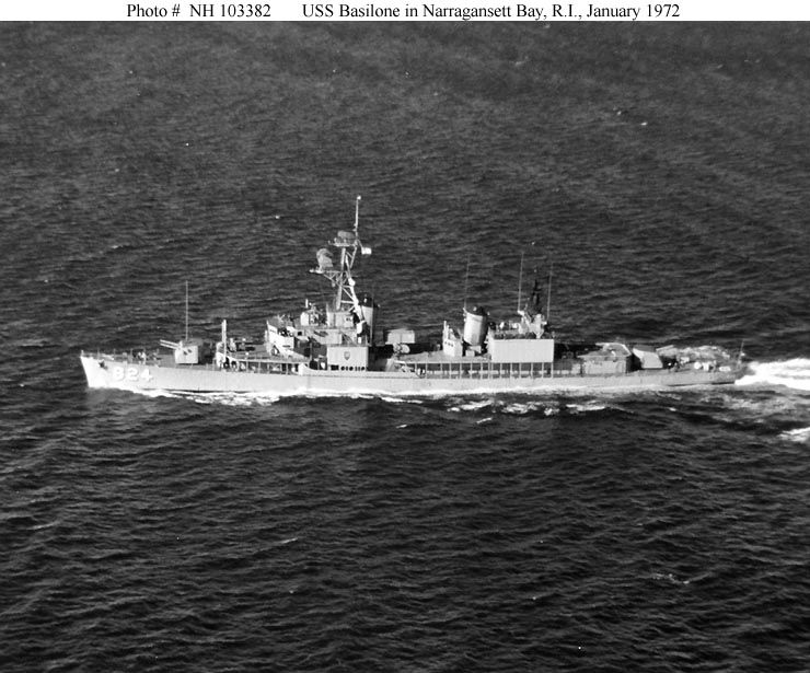 Underway, Jan, '72