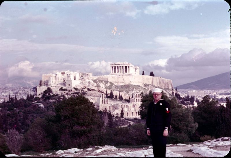 Touring Athens Dec 1969